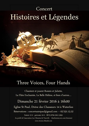 Three Voices, Four Hands