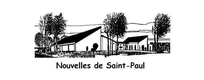 Nouvelles de Saint Paul JANVIER 2020