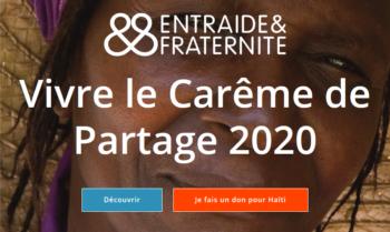 Carême de partage 2020 :