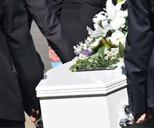 Les funérailles  religieuses