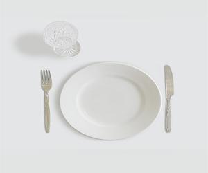 assiette vide