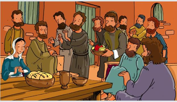 La Pentecôte : Histoire et coloriage pour les enfants