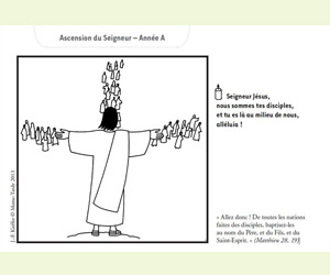 ascension de jésus