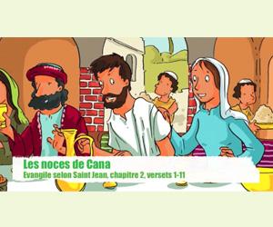 Les Noces de Cana : jeux et coloriage pour les enfants