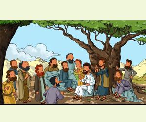 Jésus est le chemin, la vérité, la vie :  jeux et coloriage pour les enfants