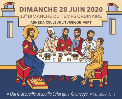 13e DIMANCHE DU TEMPS ORDINAIRE
